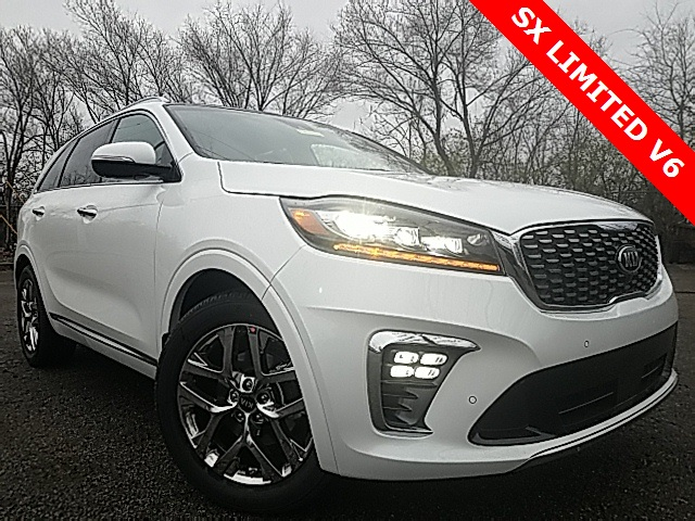 New 2019 Kia Sorento SX Limited V6 4D Sport Utility in Louisville