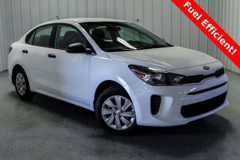 New 2018 Kia Rio LX FWD 4D Sedan