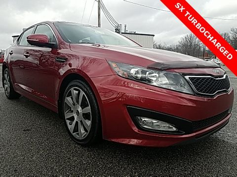 Pre-Owned 2012 Kia Optima SX FWD 4D Sedan