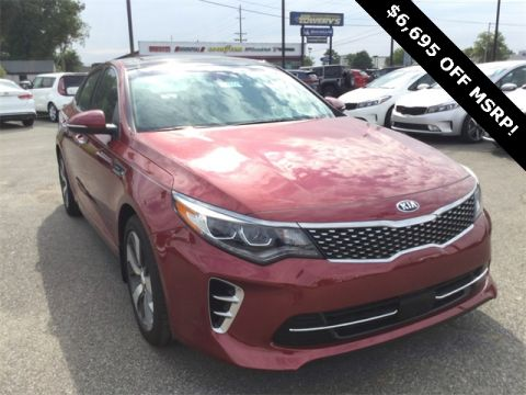 New 2017 Kia Optima SX FWD 4D Sedan