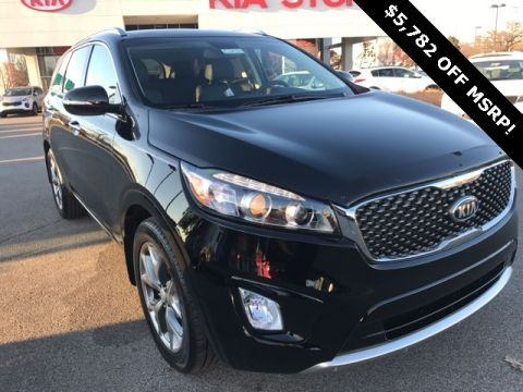 New 2018 Kia Sorento SX AWD