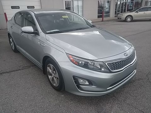 Pre-Owned 2014 Kia Optima Hybrid LX FWD 4D Sedan